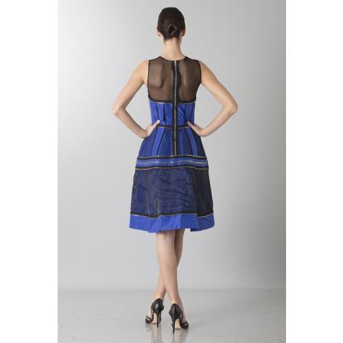 Vendita Abbigliamento Usato FIrmato - Abito in crepe di seta con zip - Jean Paul Gaultier - Drexcode -11