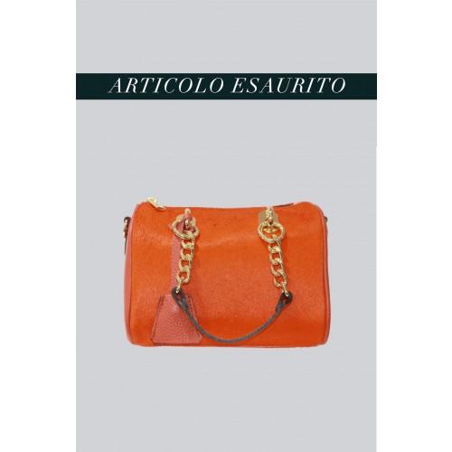 Vendita Abbigliamento Usato FIrmato - Mini bauletto in cavallino arancione - AM - Drexcode -7