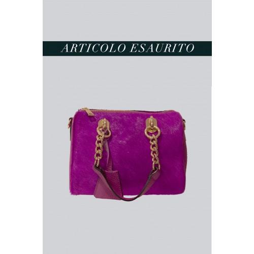 Vendita Abbigliamento Usato FIrmato - Mini bauletto in cavallino viola - AM - Drexcode -12