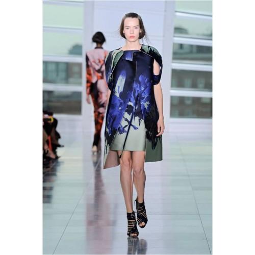 Vendita Abbigliamento Usato FIrmato - Bustier asimmetrico con stampa floreale - Antonio Berardi - Drexcode -1