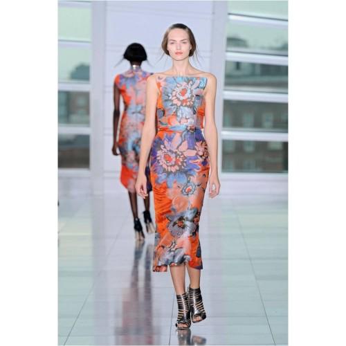 Vendita Abbigliamento Usato FIrmato - Bustier in jacquard floreale - Antonio Berardi - Drexcode -1