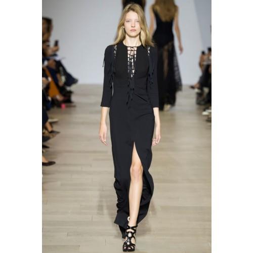 Vendita Abbigliamento Usato FIrmato - Abito lungo nero avvitato - Antonio Berardi - Drexcode -1