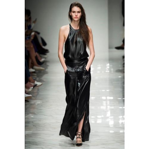 Vendita Abbigliamento Usato FIrmato - Pantalone in pelle - Blumarine - Drexcode -1