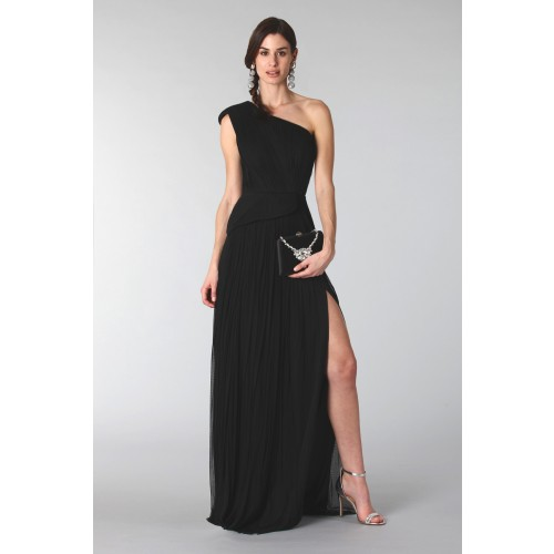 Vendita Abbigliamento Usato FIrmato - Clutch nera con collana - Rodo - Drexcode -2