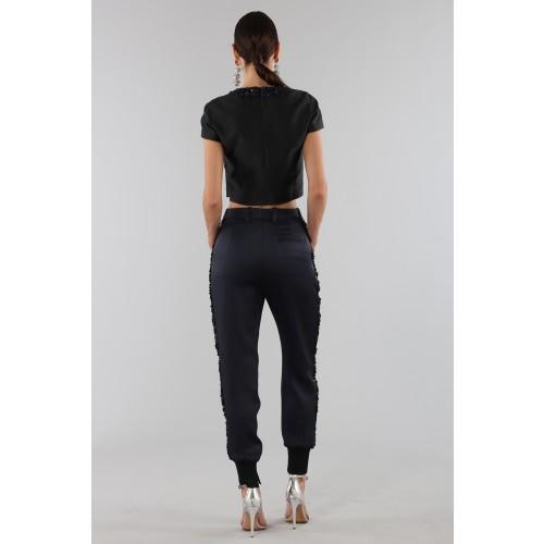 Vendita Abbigliamento Usato FIrmato - Completo con crop top e strass - 3.1 Phillip Lim - Drexcode -5