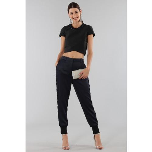 Vendita Abbigliamento Usato FIrmato - Completo con crop top e strass - 3.1 Phillip Lim - Drexcode -1