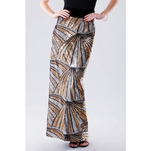 Vendita Abbigliamento Usato FIrmato - Gonna con pattern multipaillettes - Drexcode - Drexcode -2