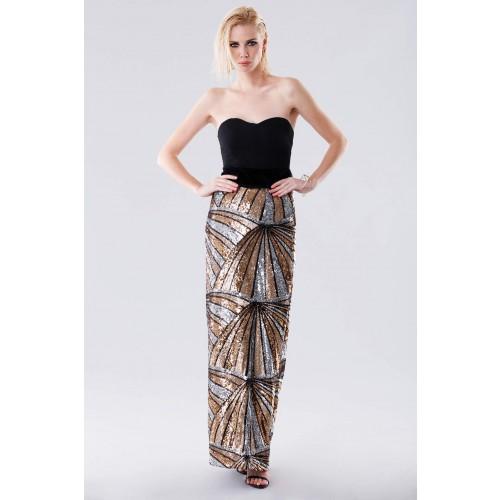 Vendita Abbigliamento Usato FIrmato - Gonna con pattern multipaillettes - Drexcode - Drexcode -3