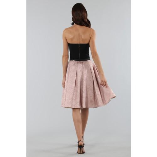 Vendita Abbigliamento Usato FIrmato - Gonna rosa con motivi - Antonio Marras - Drexcode -2