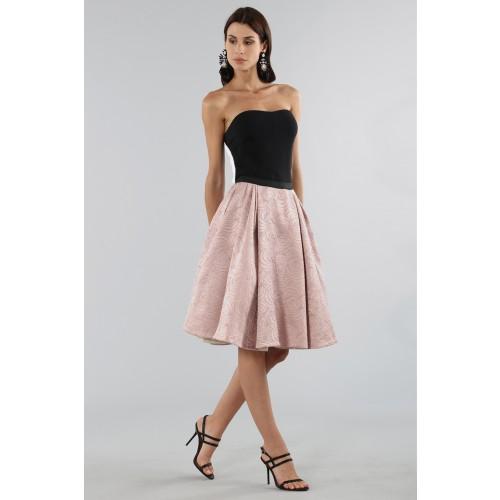 Vendita Abbigliamento Usato FIrmato - Gonna rosa con motivi - Antonio Marras - Drexcode -1