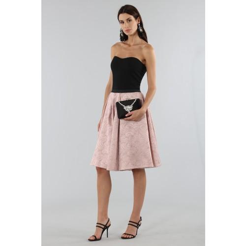 Vendita Abbigliamento Usato FIrmato - Gonna rosa con motivi - Antonio Marras - Drexcode -4