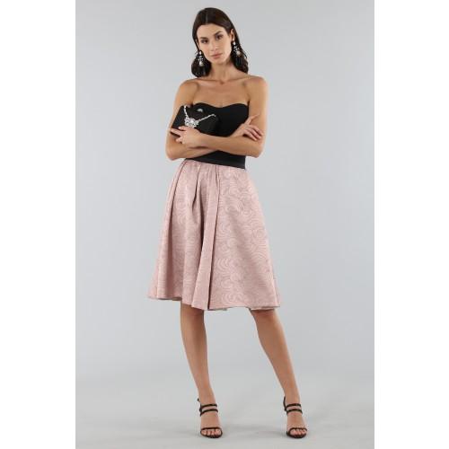 Vendita Abbigliamento Usato FIrmato - Gonna rosa con motivi - Antonio Marras - Drexcode -3