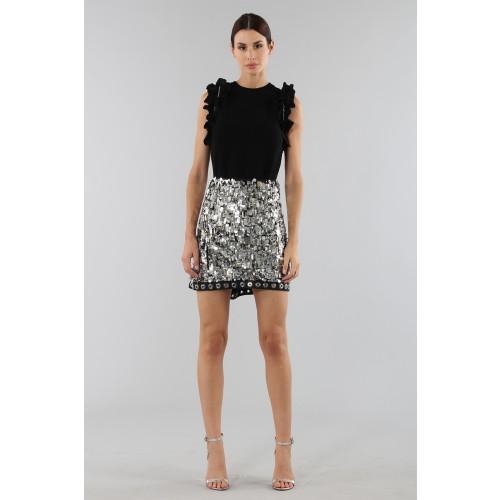 Vendita Abbigliamento Usato FIrmato - Top nero con rouches - 3.1 Phillip Lim - Drexcode -4
