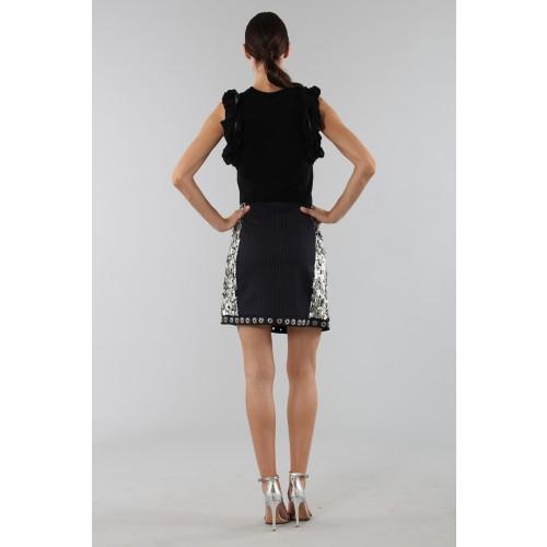 Vendita Abbigliamento Usato FIrmato - Top nero con rouches - 3.1 Phillip Lim - Drexcode -1
