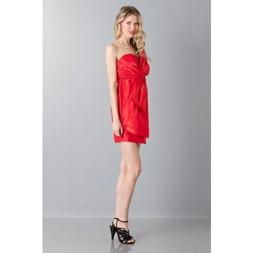 Vendita Abbigliamento Usato FIrmato - Bustier in seta - Moschino - Drexcode -3