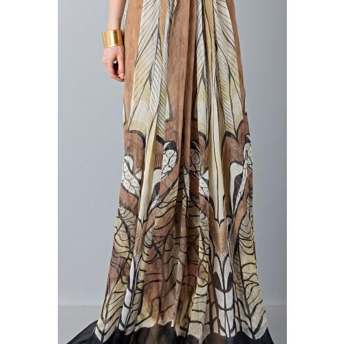 Vendita Abbigliamento Usato FIrmato - Abito lungo etnico - Alberta Ferretti - Drexcode -6
