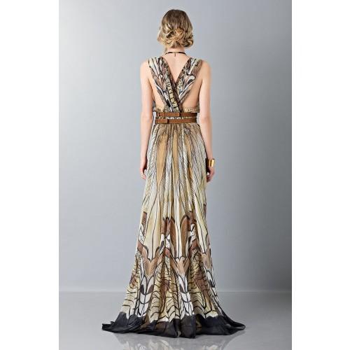 Vendita Abbigliamento Usato FIrmato - Abito lungo etnico - Alberta Ferretti - Drexcode -9