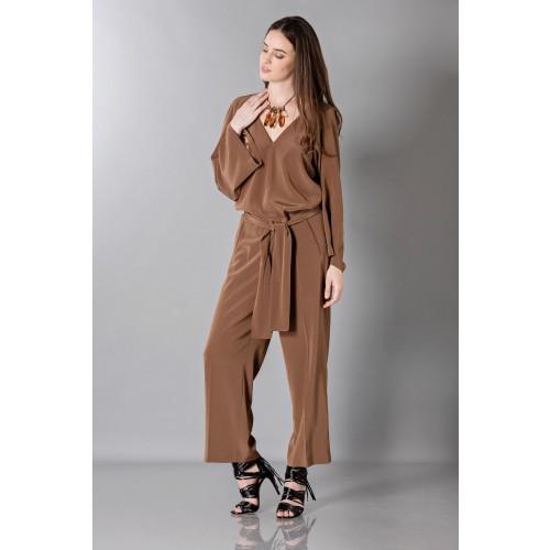 Vendita Abbigliamento Usato FIrmato - Jumpsuit manica lunga-marrone - Albino - Drexcode -7