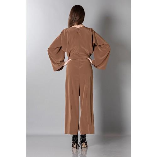 Vendita Abbigliamento Usato FIrmato - Jumpsuit manica lunga-marrone - Albino - Drexcode -12