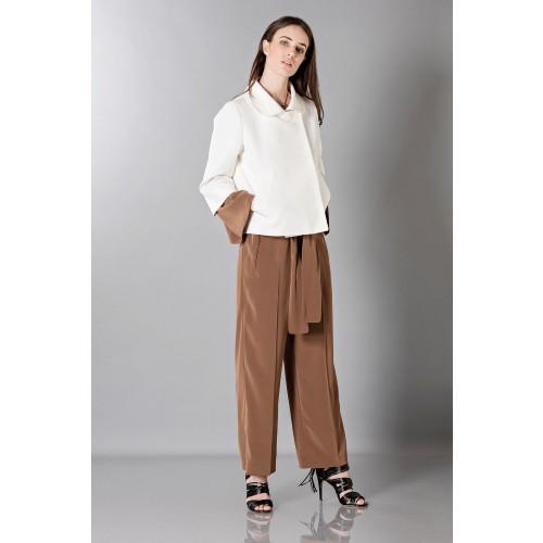 Vendita Abbigliamento Usato FIrmato - Jumpsuit manica lunga-marrone - Albino - Drexcode -8