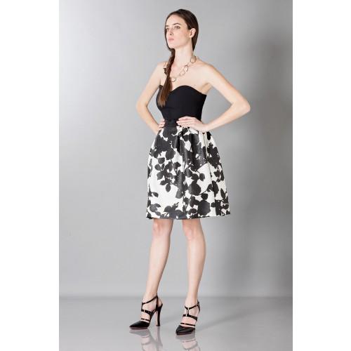 Vendita Abbigliamento Usato FIrmato - Gonna con stampa floreale - Antonio Marras - Drexcode -4