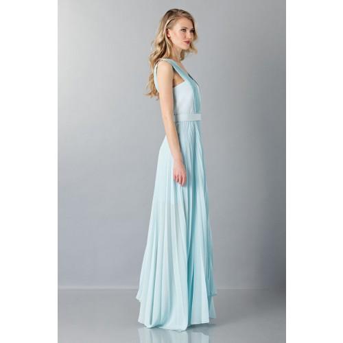 Vendita Abbigliamento Usato FIrmato - Abito da cerimonia celeste - Vionnet - Drexcode -2