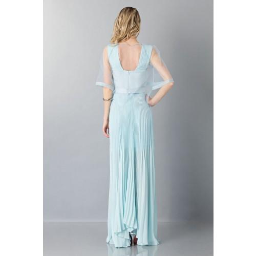 Vendita Abbigliamento Usato FIrmato - Abito da cerimonia celeste - Vionnet - Drexcode -4