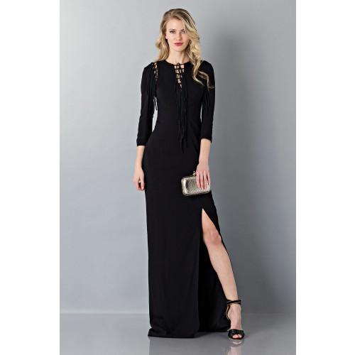 Vendita Abbigliamento Usato FIrmato - Abito lungo nero avvitato - Antonio Berardi - Drexcode -4
