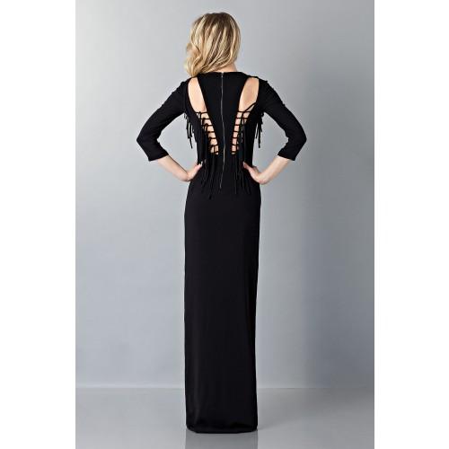 Vendita Abbigliamento Usato FIrmato - Abito lungo nero avvitato - Antonio Berardi - Drexcode -7