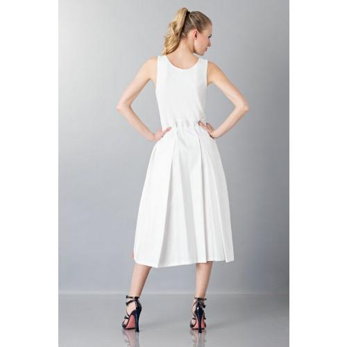 Vendita Abbigliamento Usato FIrmato - Abito con gonna a righe multicolor - Albino - Drexcode -1