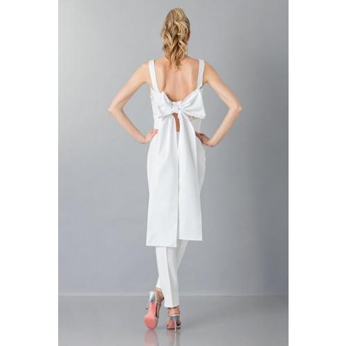 Vendita Abbigliamento Usato FIrmato - Top in pizzo e cotone - Rochas - Drexcode -2