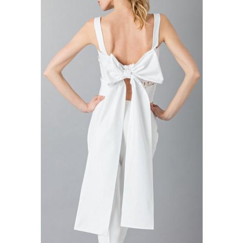 Vendita Abbigliamento Usato FIrmato - Top in pizzo e cotone - Rochas - Drexcode -6