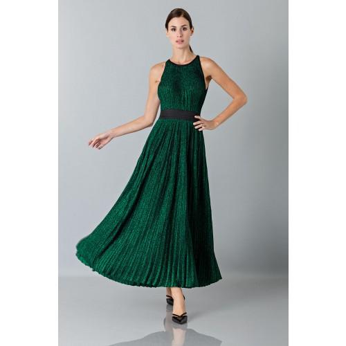 Vendita Abbigliamento Usato FIrmato - Abito lamè - Blumarine - Drexcode -6
