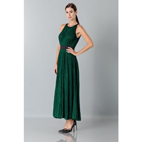 Vendita Abbigliamento Usato FIrmato - Abito lamè - Blumarine - Drexcode -7