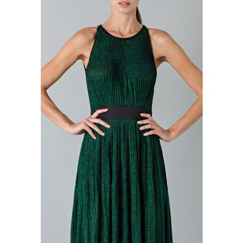 Vendita Abbigliamento Usato FIrmato - Abito lamè - Blumarine - Drexcode -5