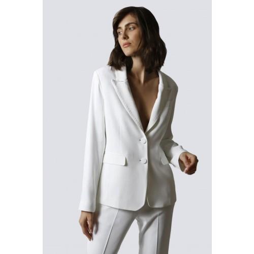 Vendita Abbigliamento Usato FIrmato - Tailleur bianco - Giuliette Brown - Drexcode -2