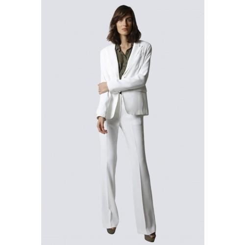 Vendita Abbigliamento Usato FIrmato - Tailleur bianco - Giuliette Brown - Drexcode -1