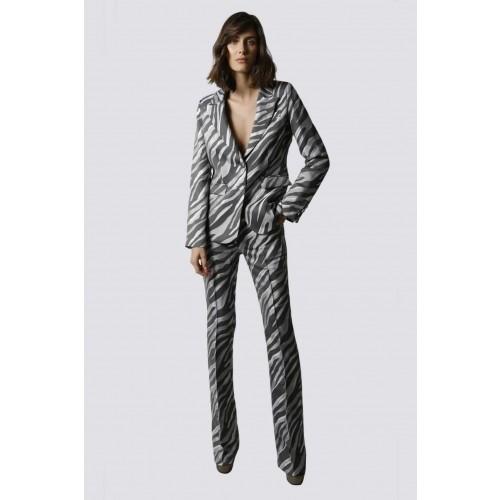 Vendita Abbigliamento Usato FIrmato - Tailleur pantalone zebrato - Giuliette Brown - Drexcode -1