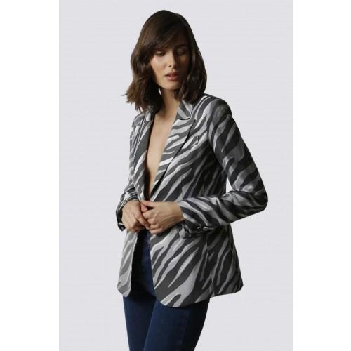 Vendita Abbigliamento Usato FIrmato - Tailleur pantalone zebrato - Giuliette Brown - Drexcode -2