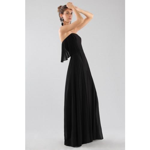 Vendita Abbigliamento Usato FIrmato - Jumpsuit nera bustier - Halston - Drexcode -3