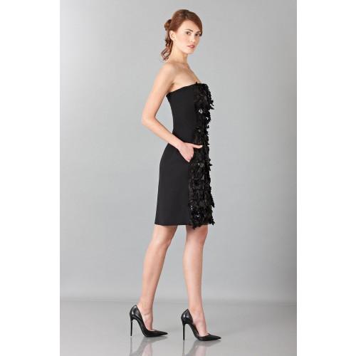 Vendita Abbigliamento Usato FIrmato - Bustier con strass e perline - Alberta Ferretti - Drexcode -3