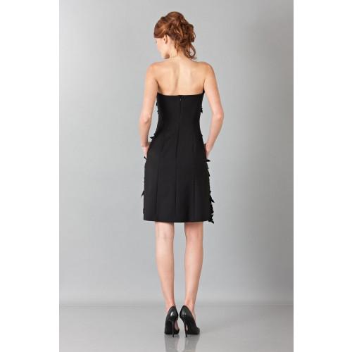 Vendita Abbigliamento Usato FIrmato - Bustier con strass e perline - Alberta Ferretti - Drexcode -4
