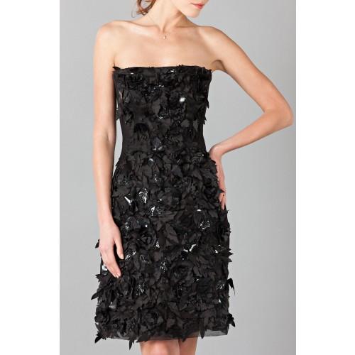 Vendita Abbigliamento Usato FIrmato - Bustier con strass e perline - Alberta Ferretti - Drexcode -5