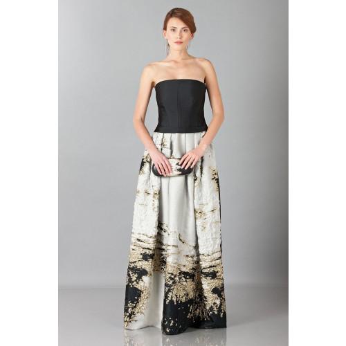 Vendita Abbigliamento Usato FIrmato - Abito lungo bustier - Alberta Ferretti - Drexcode -5