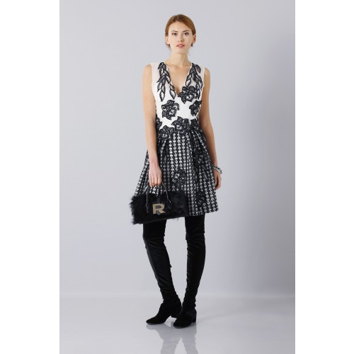 Vendita Abbigliamento Usato FIrmato - Abito in seta e mohair - Alberta Ferretti - Drexcode -9