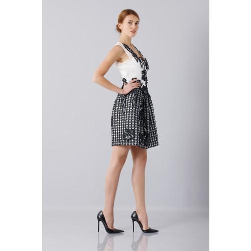 Vendita Abbigliamento Usato FIrmato - Abito in seta e mohair - Alberta Ferretti - Drexcode -8