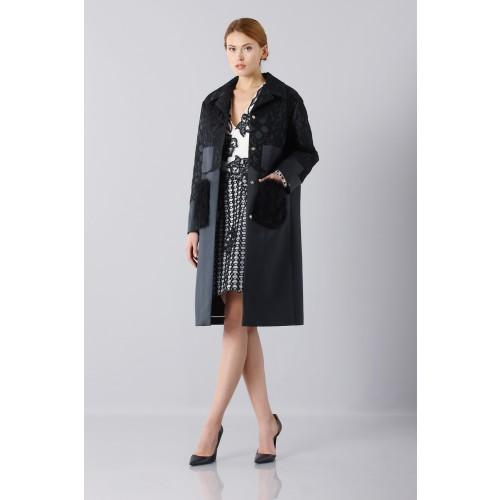Vendita Abbigliamento Usato FIrmato - Abito in seta e mohair - Alberta Ferretti - Drexcode -4
