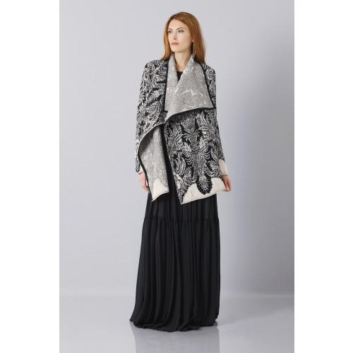 Vendita Abbigliamento Usato FIrmato - Abito nero scivolato - Vera Wang - Drexcode -6