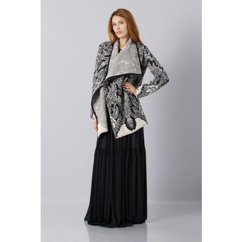 Vendita Abbigliamento Usato FIrmato - Abito nero scivolato - Vera Wang - Drexcode -8