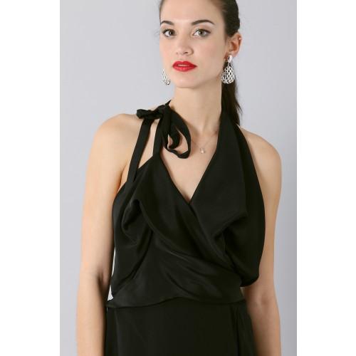 Vendita Abbigliamento Usato FIrmato - Abito con scollo asimmetrico - Vivienne Westwood - Drexcode -5
